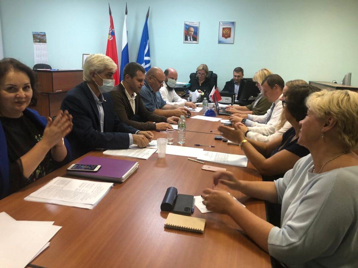 Председатель КСП  Звёздного городка 23 сентября 2020 года приняла участие в заседании Совета депутатов городского округа Звёздный городок.