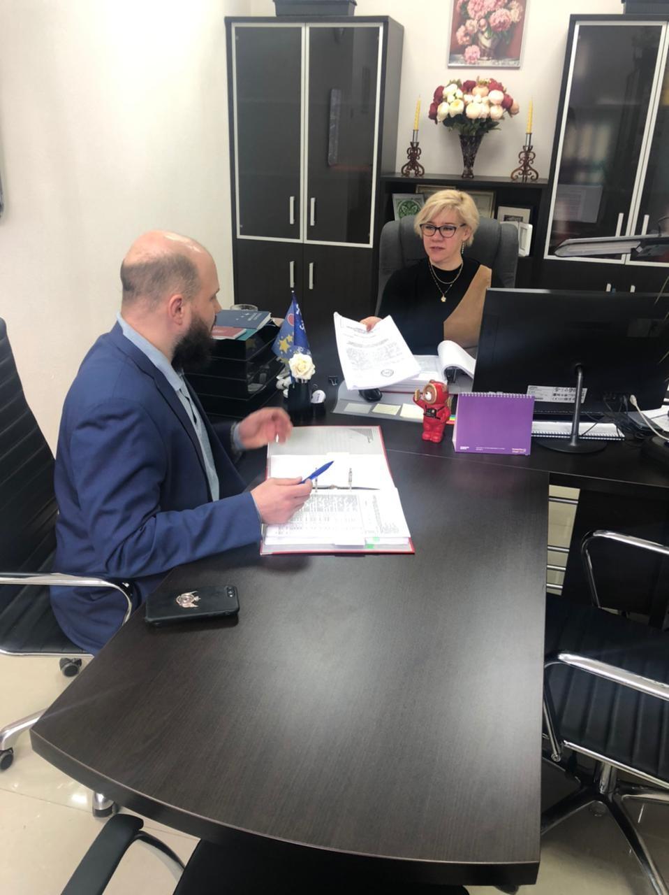 КСП Звёздного городка проведено рабочее совещание с Заместителем Председателя Совета депутатов по вопросам, связанным с внесением изменений в бюджет городского округа Звёздный городок Московской области на 2021 год.