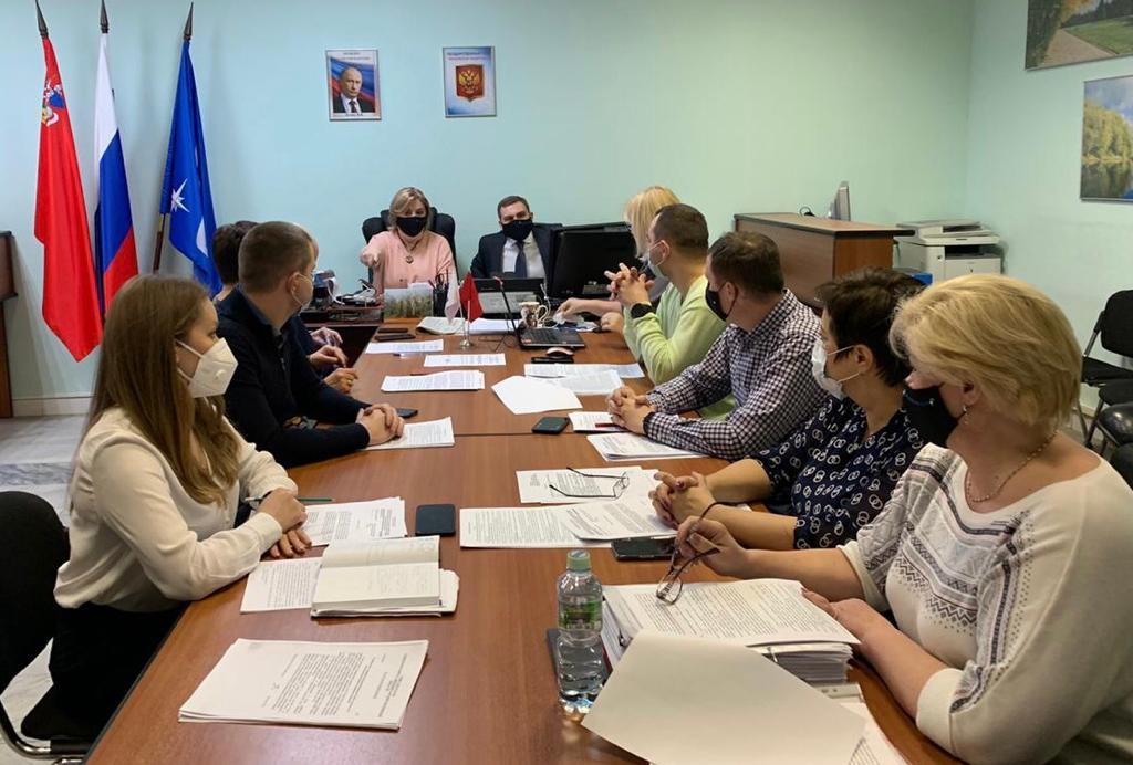 Председатель КСП Звёздного городка приняла участие в заседании Совета депутатов городского округа Звёздный городок
